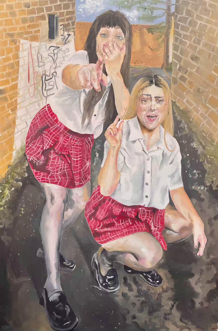 That's Pretty Pathetic by Eleanor Daly, 2021, Oil on Canvas