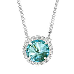 Aqua Bohem Glam Party Necklace