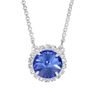 Sapphire Glam Party Necklace
