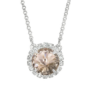 Vintage Rose Glam Party Necklace