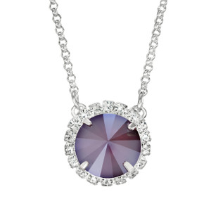 Merlot Glam Party Necklace