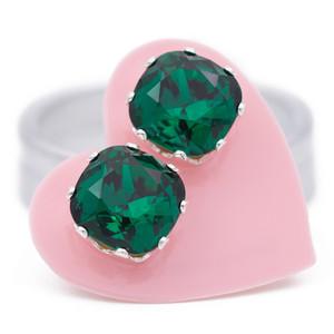 Emerald Cushion Bling