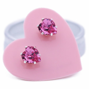 Pink Ultra Mini Heart Bling