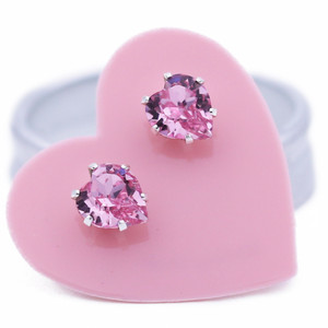 Light Pink Ultra Mini Heart Bling