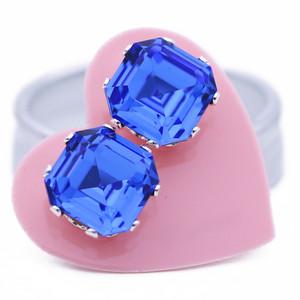 Sapphire Asscher Bling