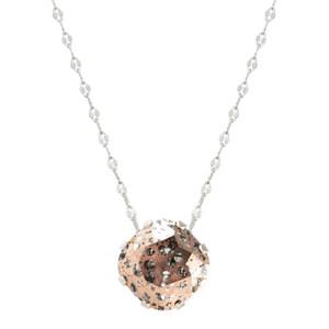 Rose Gold Patina Marina Necklace