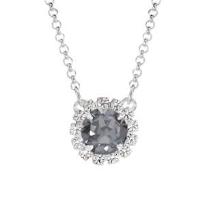 Black Sparkle Mini Party Necklace
