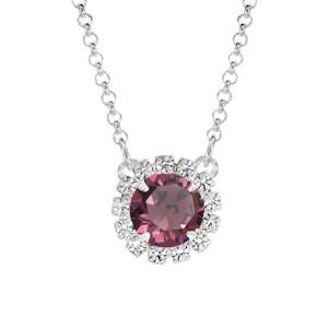 Dark Purple Mini Party Necklace