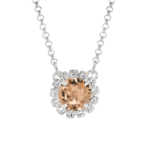 Peach Mini Party Necklace