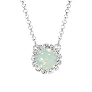 Chrysolite Opal Mini Party Necklace