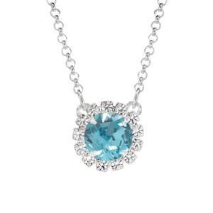 Aqua Bohem Mini Party Necklace
