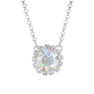 Crystal AB Mini Party Necklace