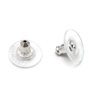 Silver Earring Backs