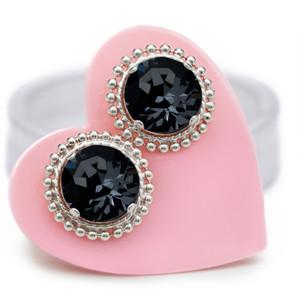 Black Sparkle Chain Mini Bling