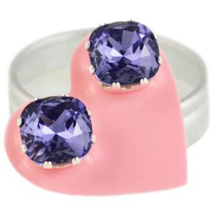 Violet Mega Cushion Bling