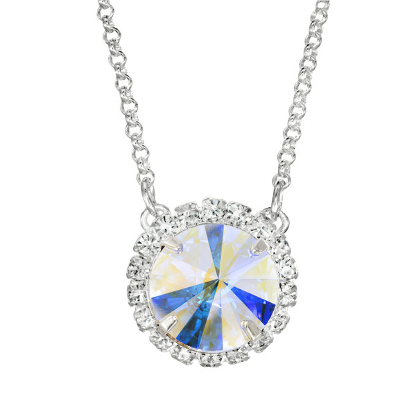 Crystal AB Glam Party Necklace