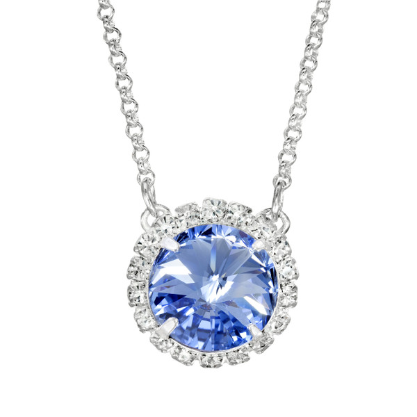 Blue Glam Party Necklace