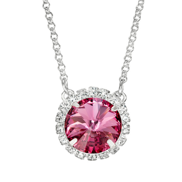 Pink Glam Party Necklace