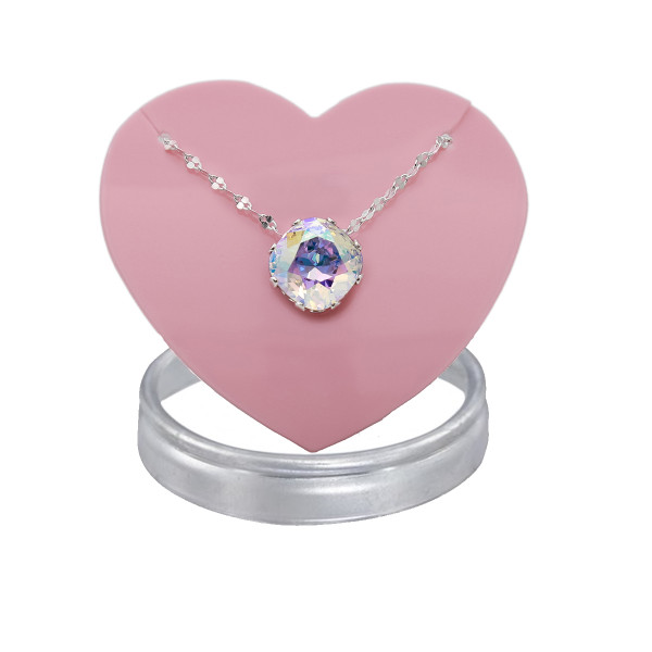 Crystal AB Marina Necklace