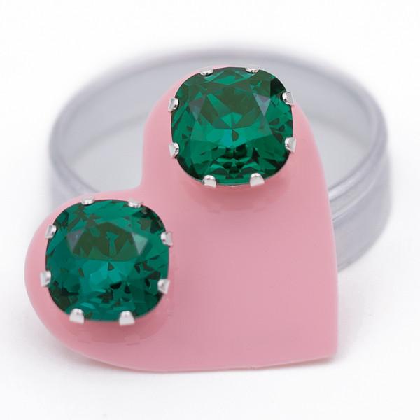 Emerald Mega Cushion Bling