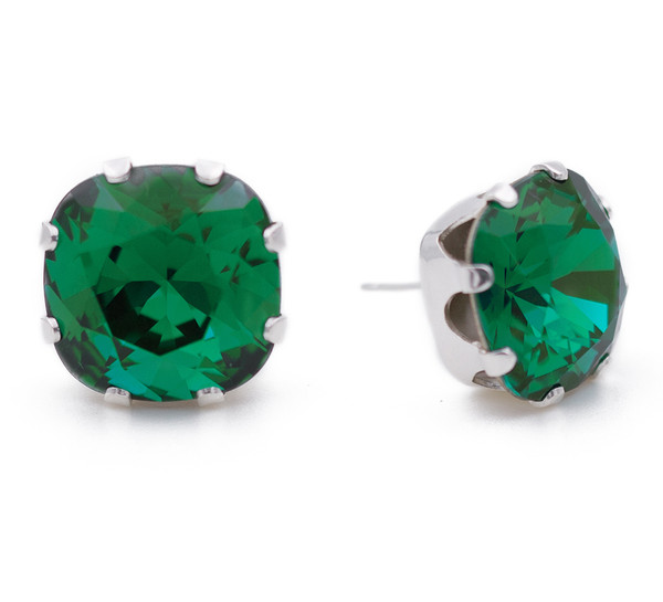 Emerald Cushion Bling