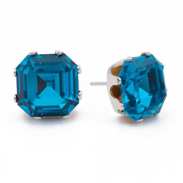 Turquoise Asscher Bling