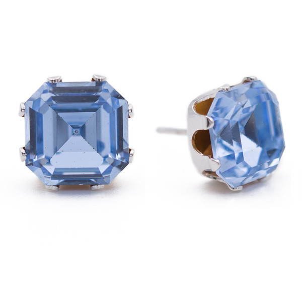 Blue Asscher Bling