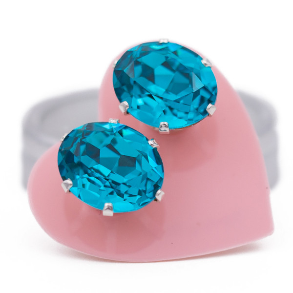 Turquoise Oval Bling