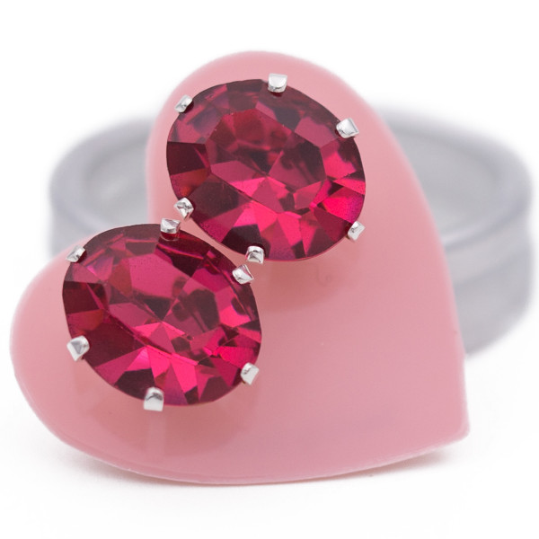 JoJo Pink Oval Bling