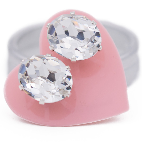 Clear Oval Bling