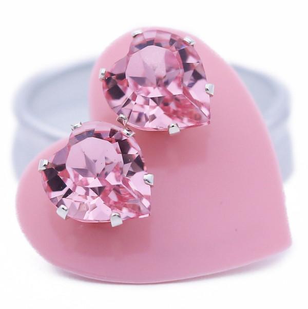 Light Pink Heart Bling