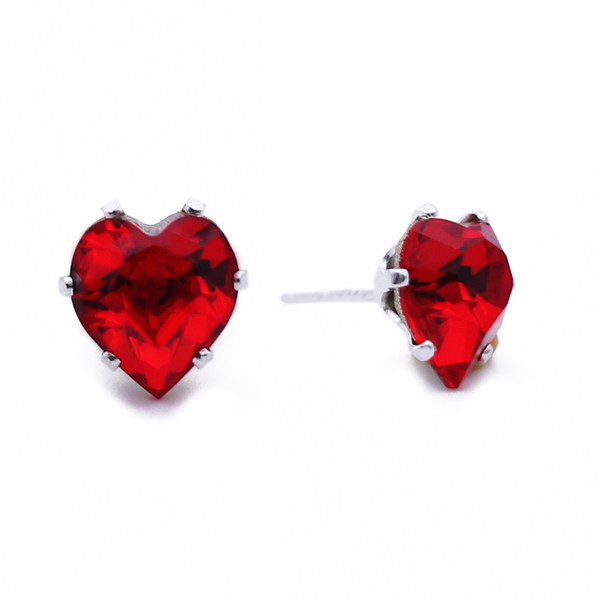Cherry Mini Heart Bling