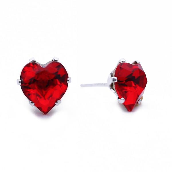 Cherry Mini Heart Bling