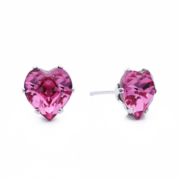 Pink Mini Heart Bling