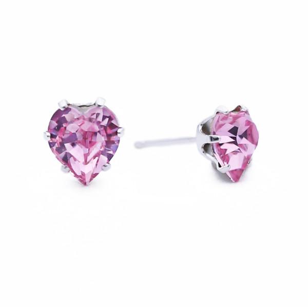 Light Pink Ultra Mini Heart Bling