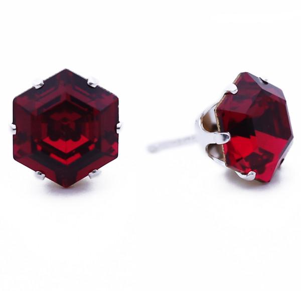 Ruby Hexagon Bling