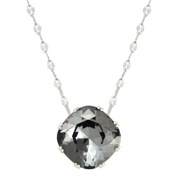 Black Sparkle Mega Marina Necklace