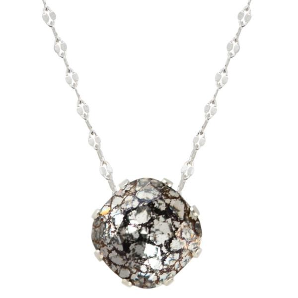 Black Patina Mega Marina Necklace