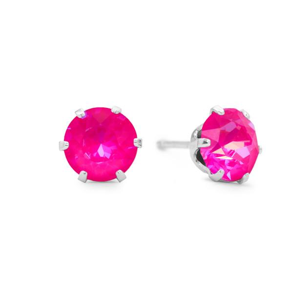 Neon Pink Mini Bling