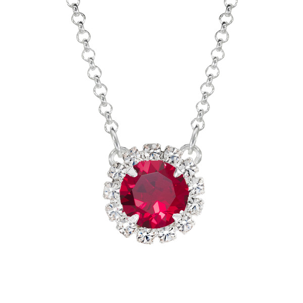 Ruby Mini Party Necklace