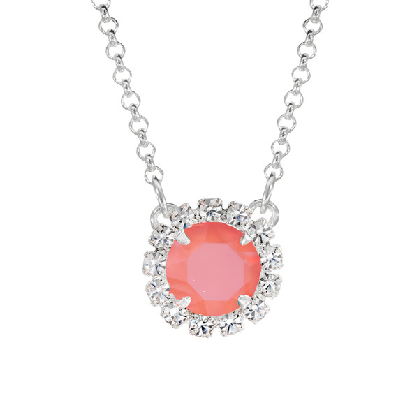Creamsicle Mini Party Necklace