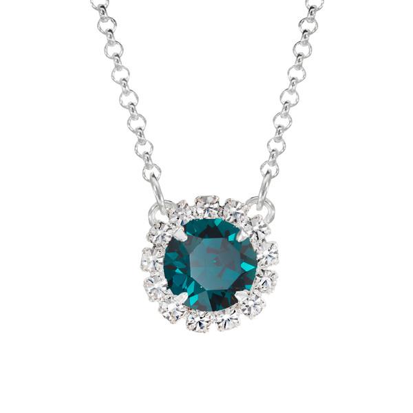 Emerald Mini Party Necklace