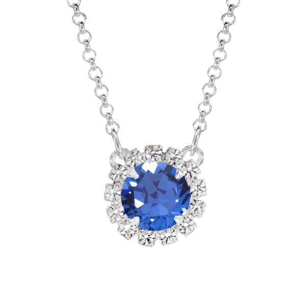 Sapphire Mini Party Necklace