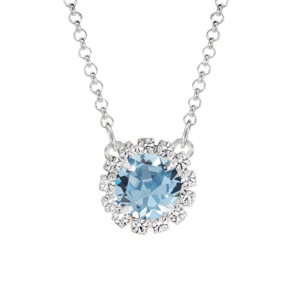 Aqua Mini Party Necklace
