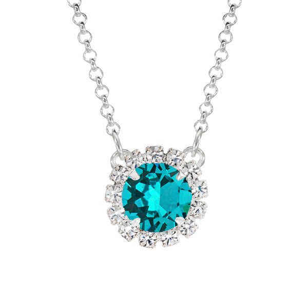 Turquoise Mini Party Necklace