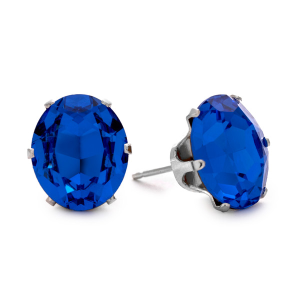 Sapphire Oval Bling