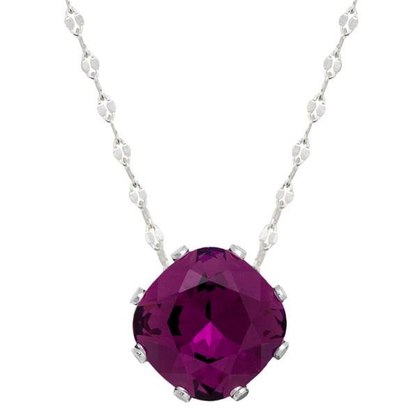 Dark Purple Mega Marina Necklace