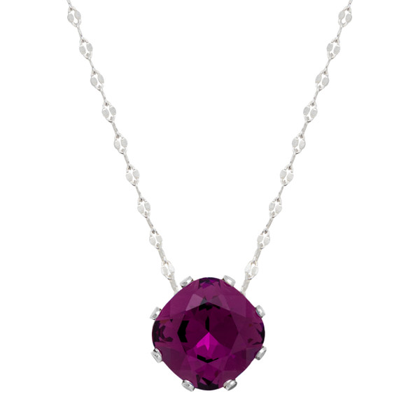 Dark Purple Marina Necklace