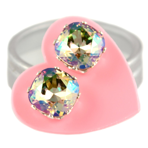 Topaz with Pink Cushion Bling