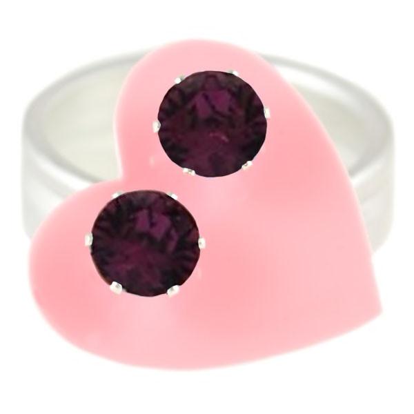 Dark Purple Mini Bling